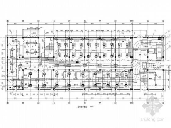 厂房净化空调通风系统设计施工图