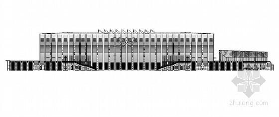 [北京]某大学体育馆建筑施工图(奥运会柔道、跆拳道比赛馆)