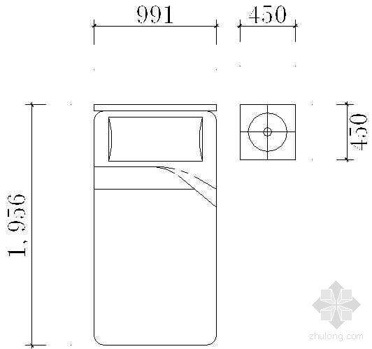 床平面CAD图块7