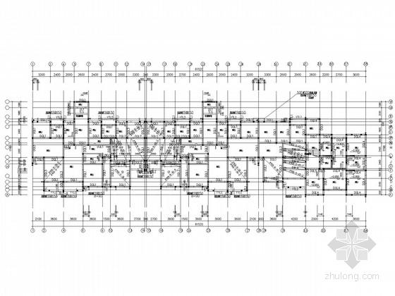 带夹层六层住宅框架结构施工图