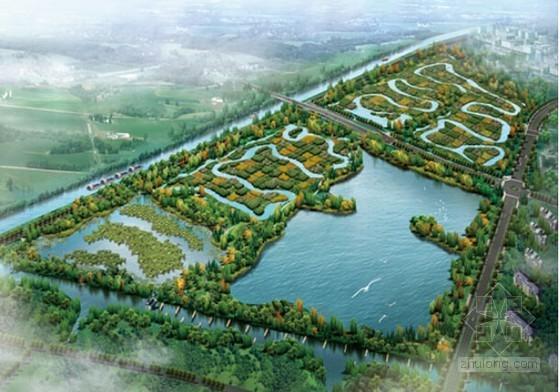 [浙江]湿地治理工程初步设计概算书(全套报表)