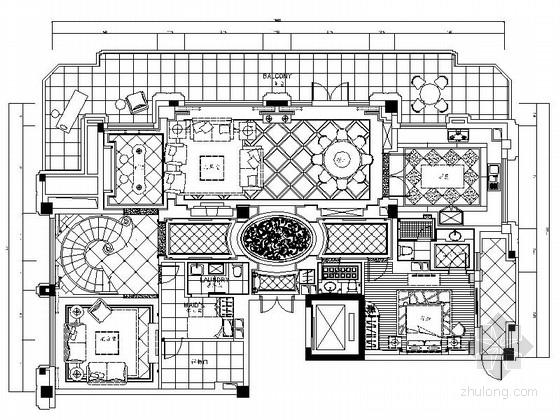 [浙江]环保商务酒店跃层样板房装修设计图(含实景)