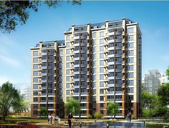[重庆]大型住宅项目建筑安装工程预算书(广联达软件实例)