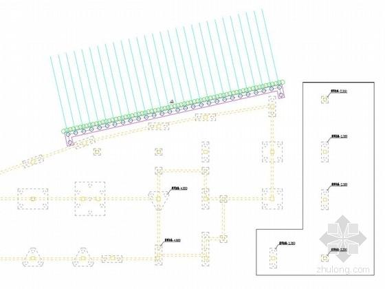 [浙江]排桩加水泥土锚杆基坑支护施工图
