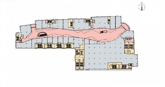 [北京]繁华8层购物中心室内设计概念方案