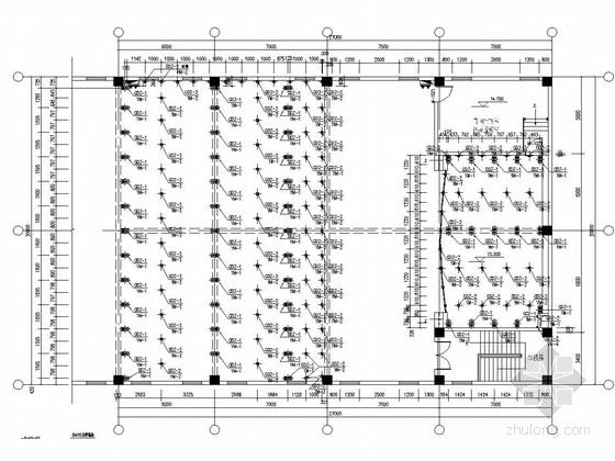 钢结构阶梯教室及舞台结构图