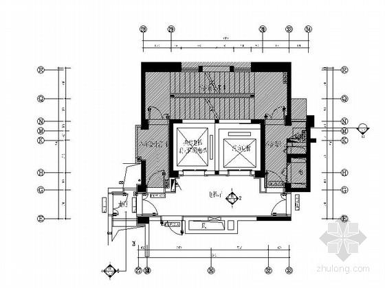 [福州]知名房地产开发商设计公共空间室内施工图
