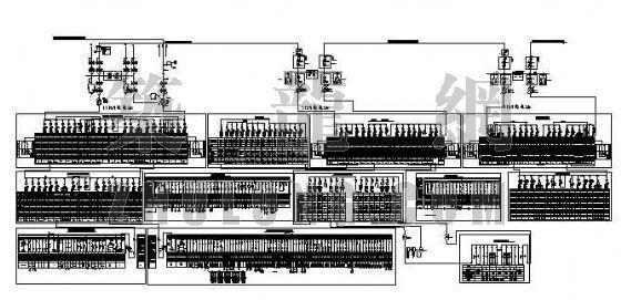 煤矿地面供电系统图