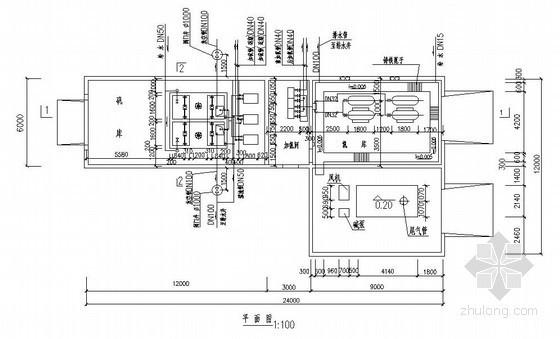 湖北省某给水处理工程课程设计图纸