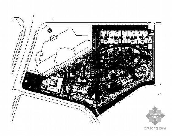 杭州高档小区景观成套施工图