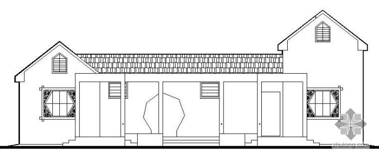 亭廊古建施工图