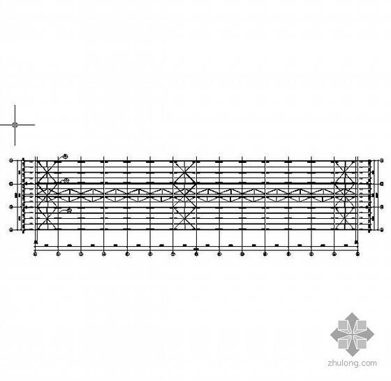 某18m跨单层钢结构厂房建筑结构全套图纸