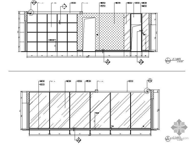 [四川]时尚二居样板房室内装修图(含效果)_2