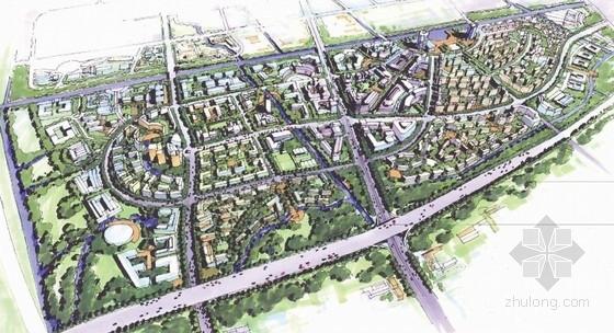 [上海]大型城市规划及单体设计方案文本