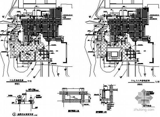 小区7个架空层设计图