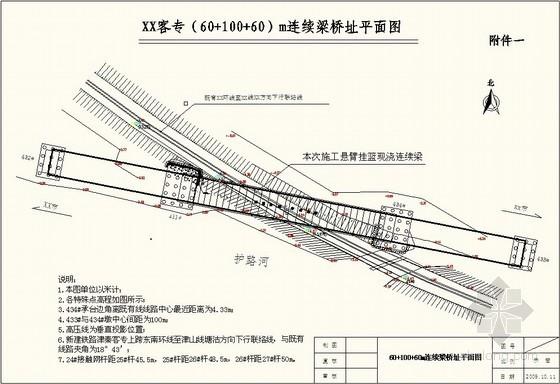 [天津]铁路工程跨线接触网防护施工方案