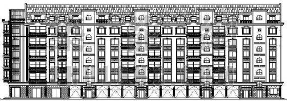 某多层住宅楼建筑设计方案