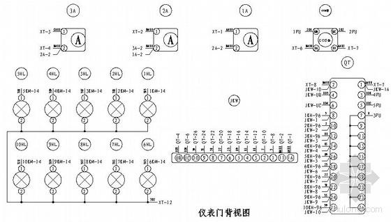低压电容柜二次原理图