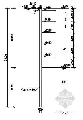 [上海]广场深基坑工程地下连续墙设计计算书