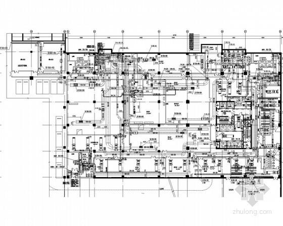 [内蒙古]大型知名星级酒店暖通空调系统设计施工图(形式全面 系统图多)
