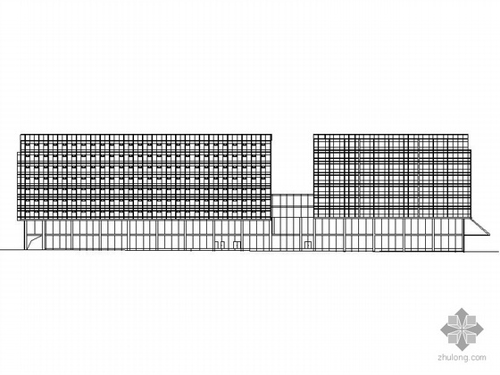 某九层商业综合楼建筑施工图
