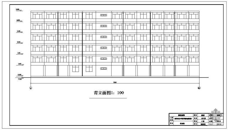 [学士]郑州某中学教学楼框架结构毕业设计(含计算书、建筑结构设计图)