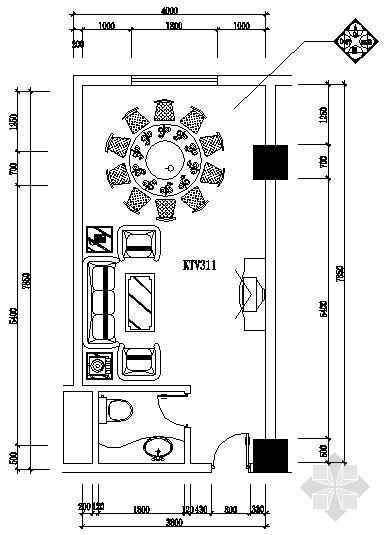 酒店ktv包厢装修图