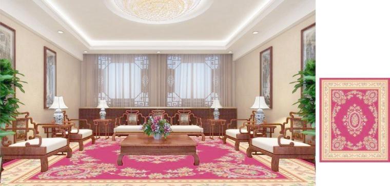 客厅地毯也讲风水吉凶!