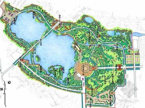 [安徽]自然休闲滨水生态文化公园景观规划设计方案