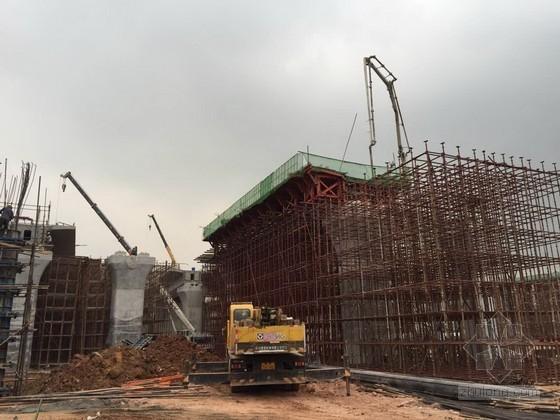 [江西]新建铁路现浇简支桥梁支架施工专项施工方案70页(含计算书)