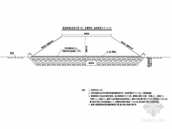 [重庆]城市支路道路工程施工图设计41张(路基路面 路线交叉)