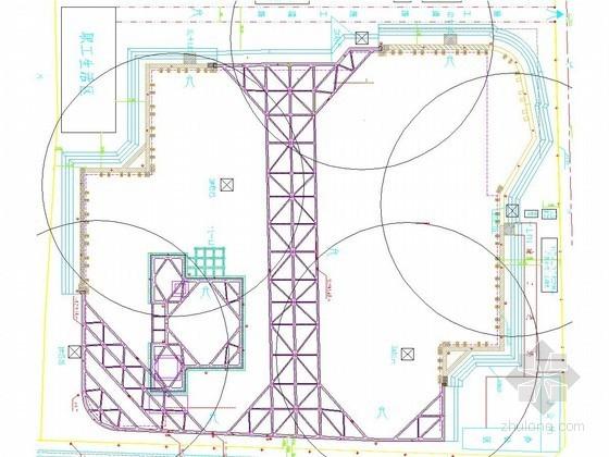 [浙江]15米深基坑排桩加三道环梁支撑开挖支护施工方案