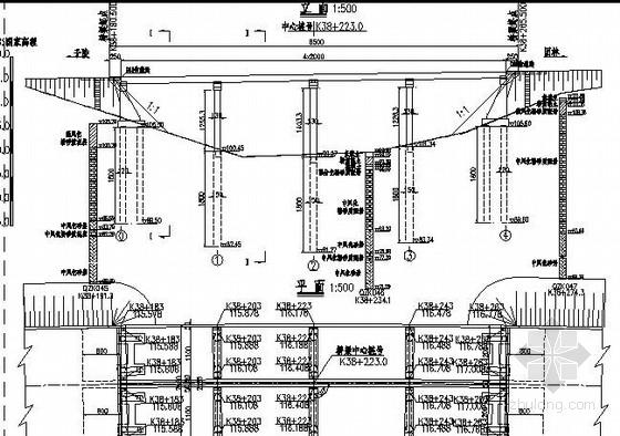 [湖北]一联4x20m先简支后连续后张法预应力小箱梁桥施工图70张