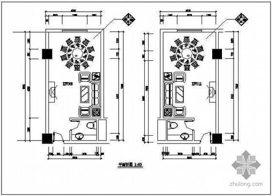 酒店ktv包厢装修图纸