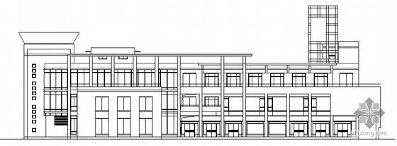 浦江镇120号配套商品房H地块公建社区中心建筑方案图