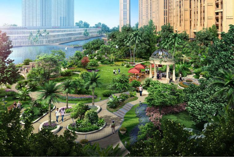 [广东]东莞厚街万达住宅景观方案设计(独家内部资料|PDF+62页)