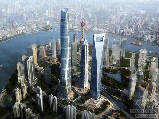 [上海]城市标志摩天大楼暖通全套设计施工图纸783张(632米、118层)
