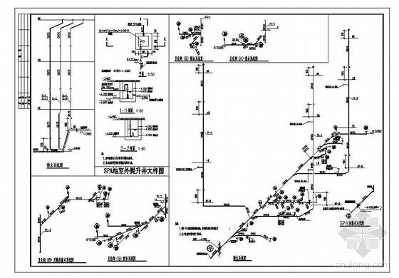 北京某高档别墅给排水施工图设计