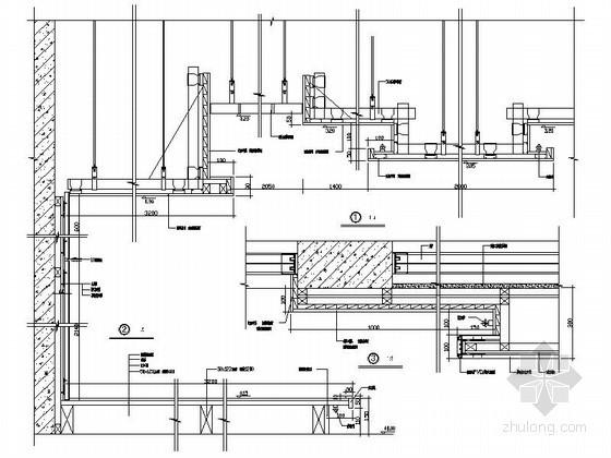 成套防火板、倍耐板装饰墙面造型节点详图CAD图块下载