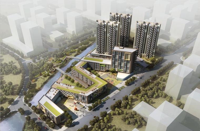 [安徽]高层现代风格高端型人才居住区建筑设计方案文本(含CAD)