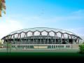 提高体育场钢结构铝镁锰板屋面铝合金支座一次安装合格率