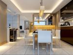 白色清新餐厅3D模型下载