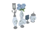 精致花瓶瓷器3D模型下载