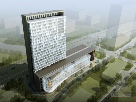 [合集]3套现代风格知名大学楼建筑设计方案文本