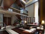 中式别墅居室3D模型下载