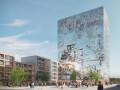 德国老城新建水晶商业综合体