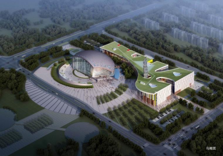 [江苏]南京溧水文化艺术中心设计方案