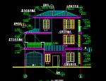 三层典型别墅建筑图