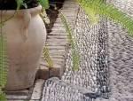 一堆石子,惊艳了整个院子