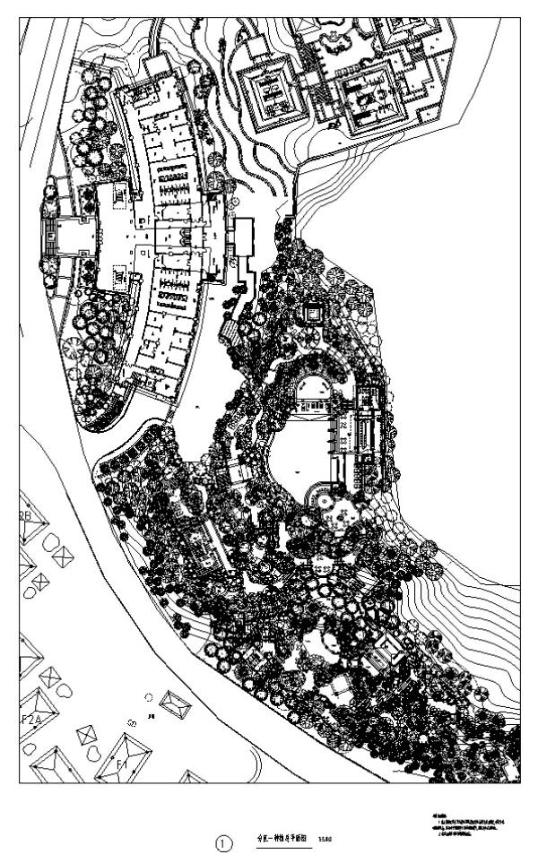 [云南]生态养生温泉度假区景观设计全套施工图